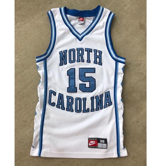 ba20b7121e3 VTG 90's Nike Vince Carter North Carolina Jersey. M_5c71cc8d619745cd14bc9e13